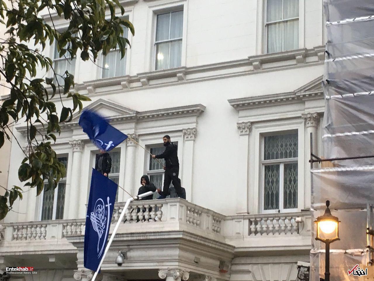 فیلم حمله به  سفات ایران در لندن به روش خودسرها!