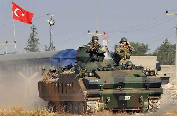 نیروهای ترکیه به دروازههای شهر عفرین رسیدند