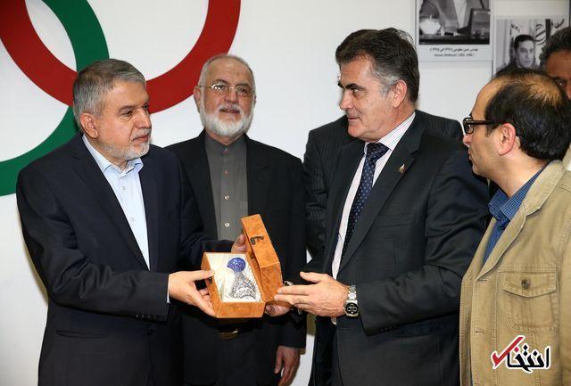 قدردانی رییس فدراسیون جهانی پدل از رییس کمیته ملی المپیک ایران