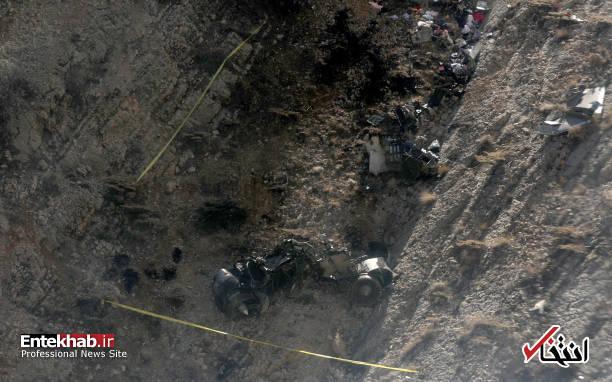 عکس/ عملیات انتقال پیکرهای جانباختگان سقوط هواپیمای ترکیه