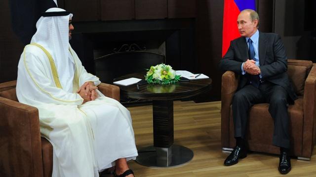 تماس تلفنی پوتین با ولی&lrm;عهد <a class='no-color' href='http://newsfa.ir/'>ابوظبی </a> درباره ثبات منطقه
