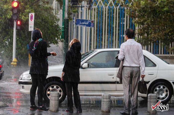 فردا ۱۷ استان بارانی می شود/ خیزش گرد و غبار در ایلام و خوزستان