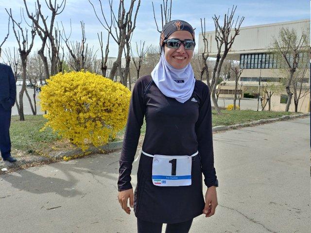 بانوی قهرمان دوگانه ایران: رییس اتحادیه جهانی از رقابت ما لذت برد