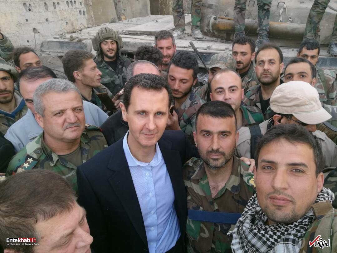 مبارزه ارتش سوریه در برابر تروریسم، دفاع از همه کشورهای جهان است اسد