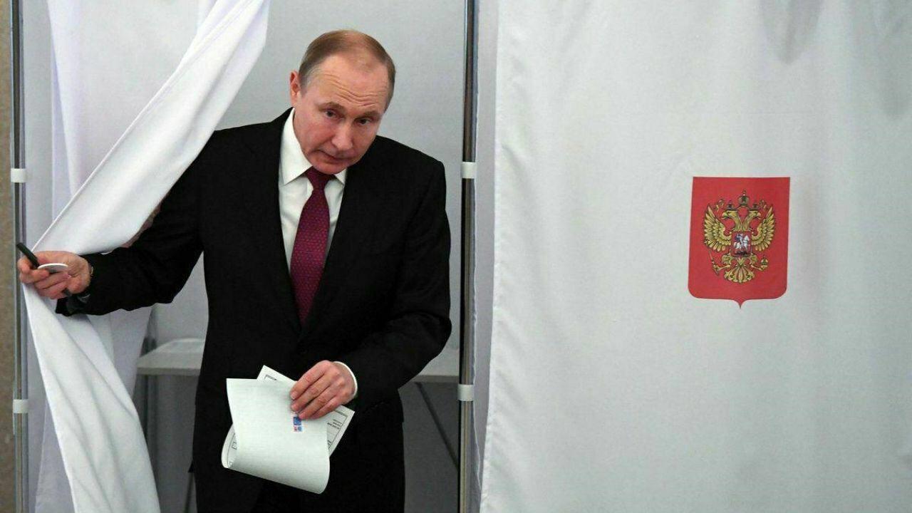 انتخابات ریاست جمهوری روسیه؛ پوتین با اکثریت قاطع آرا، در کرملین ماندنی شد