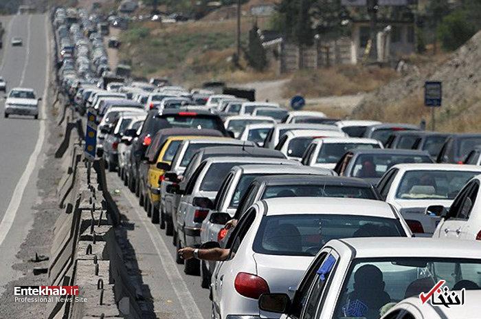 ترافیک پرحجم در مبادی شهرهای شمالی و زیارتی