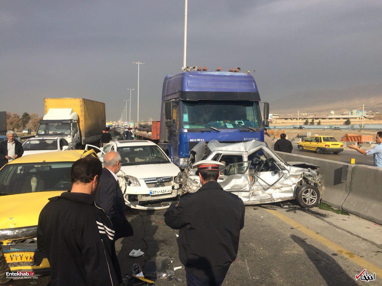 پلیس راهور علت ۸۰ درصد تصادفات شبانهروز گذشته را اعلام کرد