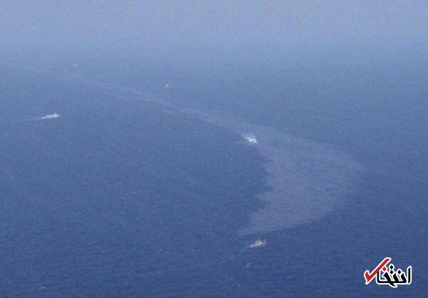 ژاپن: لکه های نفتی رسیده به ساحل اوشیما متعلق به سانچی است