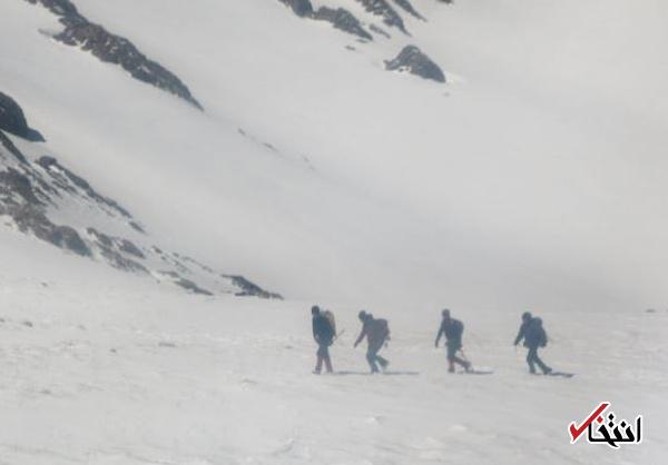 عملیات روز پنجم جست و جو در دنا متوقف شد / تیم های امداد بازگشتند / بارش  برف تا سه شنبه ادامه دارد