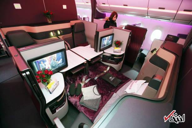 تصاویر : قطر ایرویز نخستین هواپیمای ایرباس A۳۵۰-۱۰۰۰ را تحویل گرفت