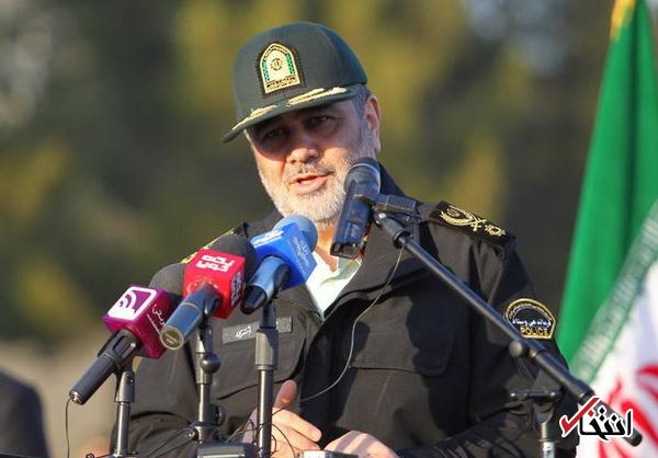 فرمانده ناجا: اگر در اتفاقات خیابان پاسداران زودتر اقدام می کردیم مشکلات بیشتری ایجاد می شد