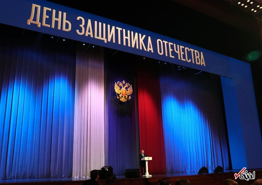 پوتین: روسیه به جایگاه برتر نظامی جهان بازگشته / با اطمینان گفت که امنیت ما به طور کامل تضمین شده