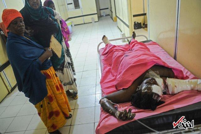 ۴۰ کشته و زخمی در ۲ انفجار در پایتخت سومالی/ تیراندازی به کاخ ریاست جمهوری/ الشباب مسئولیت حملات را بر عهده گرفت
