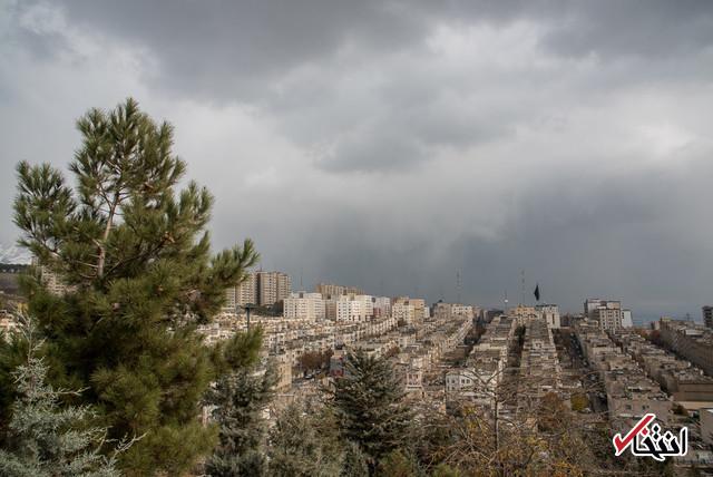 هوای تهران سالم است/ پیش بینی وزش باد نسبتا شدید