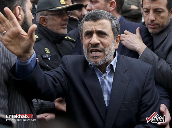 با احمدی نژاد برخورد نکنید، او همین را میخواهد / از کنار او با بیاعتنایی بگذرید / میخواهد خود را رهبر مطالبات مردم جا بزند و همچون گذشته از آب گلآلود ماهی بگیرد