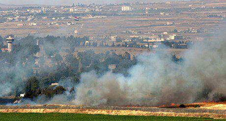 آتشبارهای اسرائیل دوباره ارتش سوریه را هدف قرار دادند