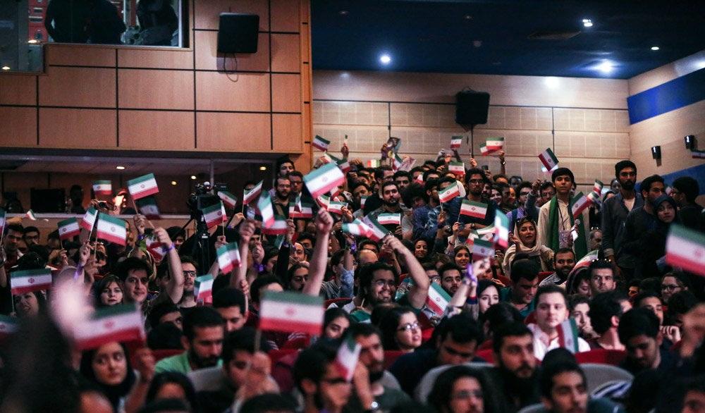 تصاویر : همایش انتخاباتی روحانی در تهران