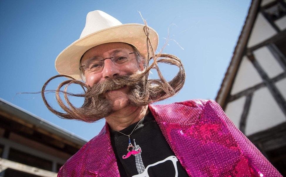 تصاویر : مسابقه ریش و سبیل های عجیب غریب