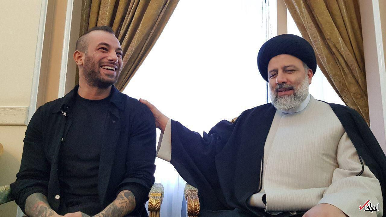 ابراهیم رئیسی تصاویر تبلیغاتی از همنشینی با تتلو منتشر کرد