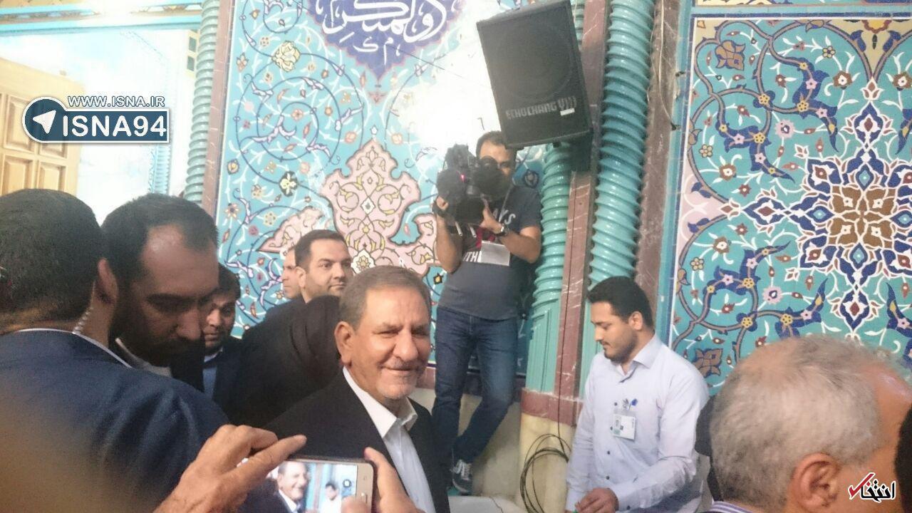 آغاز دوازدهمین دوره انتخابات ریاست جمهوری/وزیرکشور:مردم به شایعات توجه نکنند/ روحانی، سیدعلی خمینی و عارف رای خود را به صندوق انداختند+تصاویر
