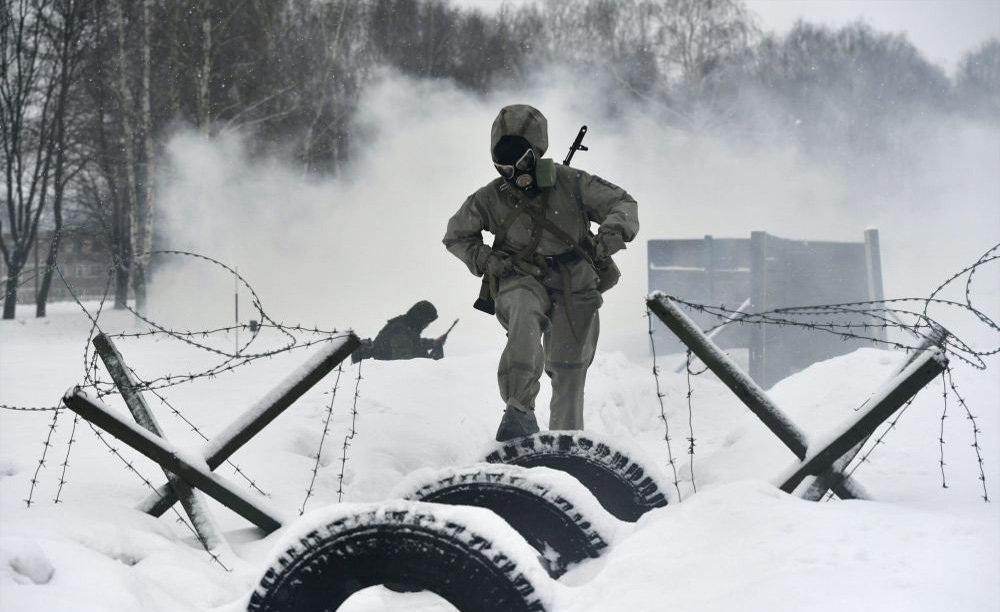 زنان در ارتش روسیه/عکس