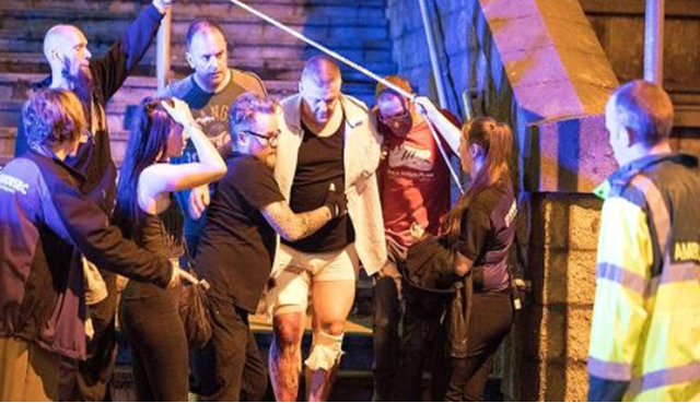 انفجار در منچستر انگلیس / تلفات: 19 کشته، 50 زخمی