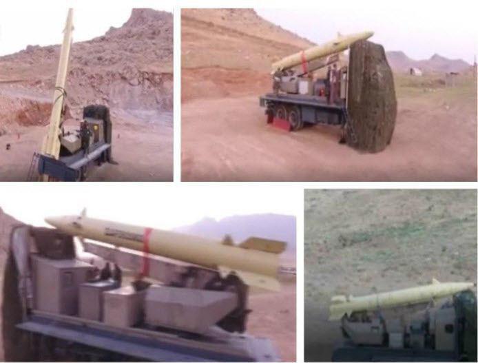 تصاویری از آمادهسازی موشکهای ذوالفقار قبل از شلیک به مواضع داعش