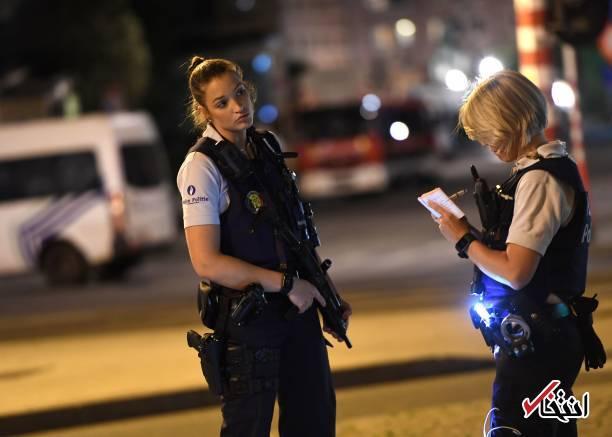 تصاویر : انفجار انتحاری در ایستگاه قطار بروکسل