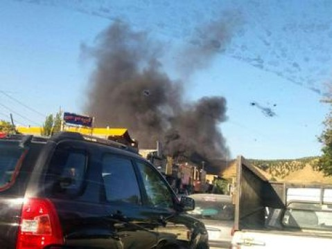 آتشسوزی در دشت بهشت/ ارتباطی با زندان اوین ندارد