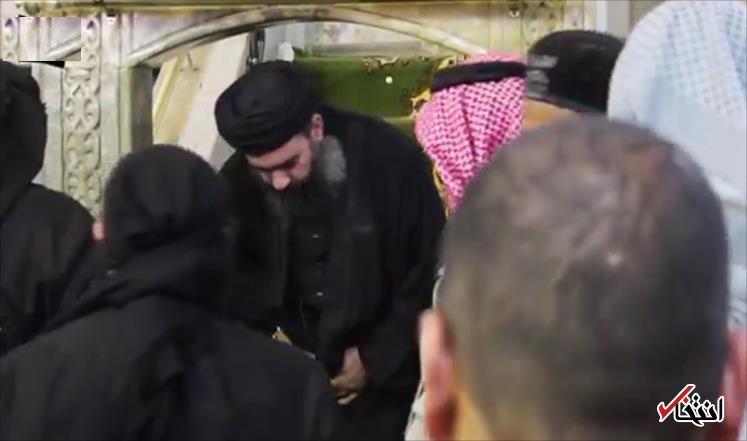 تصاویر : پایان خلیفه داعش