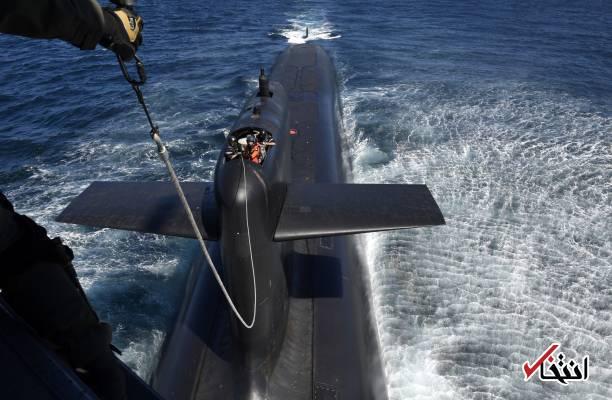 تصاویر : فرود رییس جمهور فرانسه روی زیردریایی اتمی!