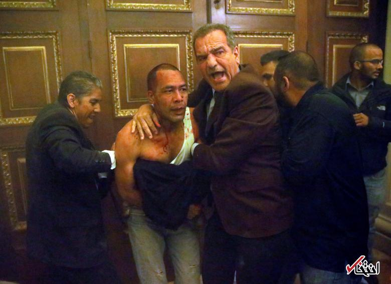 تصاویر : حمله خونین هواداران دولت به مجلس ونزوئلا