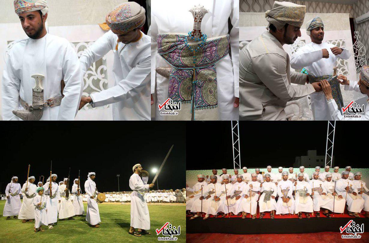 عکس / برگزاری جشن ازدواج با خنجر