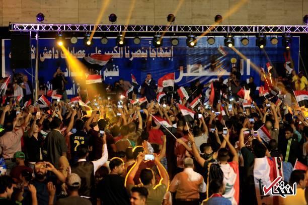 تصاویر : جشن آزادی موصل در میدان التحریر بغداد