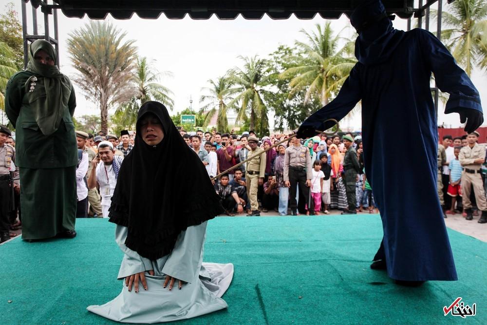 تصاویر : مجازات نقض قوانین شریعت در آچه