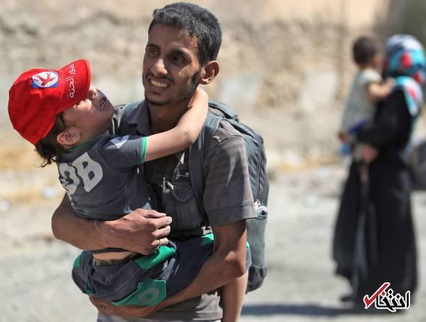 تصاویر : اشکها و لبخندهای مردم موصل