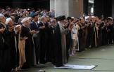 نماز عید فطر به امامت رهبر معظم انقلاب اقامه شد