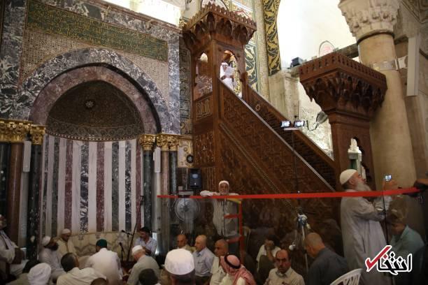 داخل مسجد الاقصی