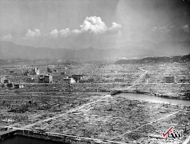 تصاویر : روزی که هیروشیما هدف بمب اتمی قرار گرفت