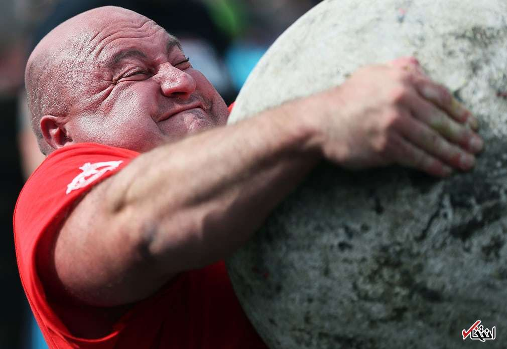 عکس/ مسابقات قویترین مردان جهان