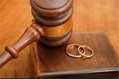 کاهش آمار طلاق توافقی در سال ۹۵ /۱۱ و نیم میلیون نفر در سن ازدواج