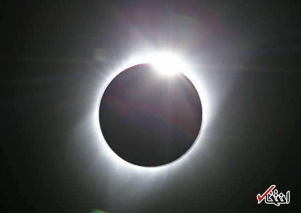 تصاویر : خورشید در آمریکا گرفت