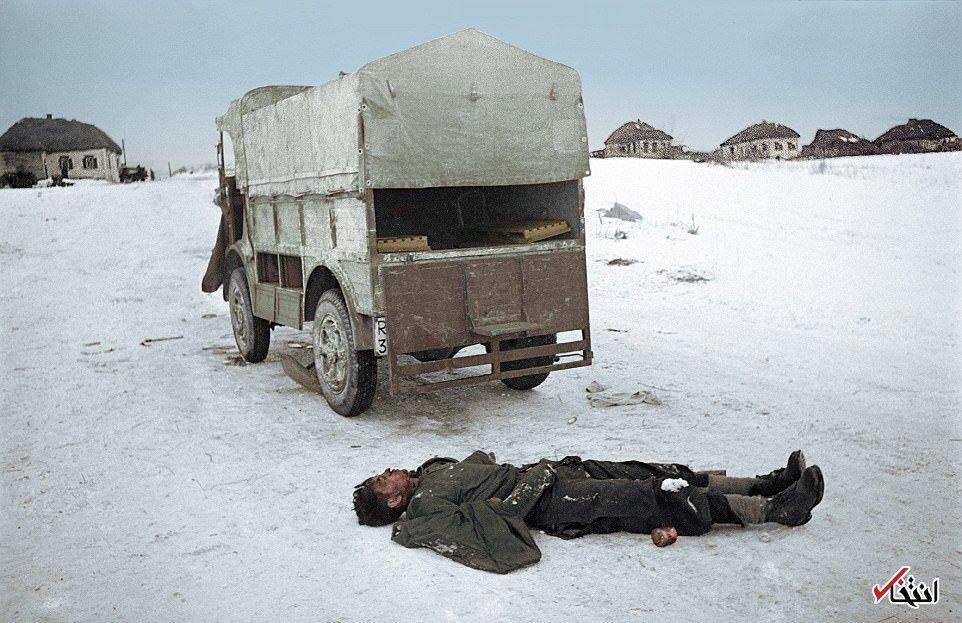 تصاویر رنگی از نبرد استالینگراد؛ از اولین خلبان زن تا دو تک تیرانداز