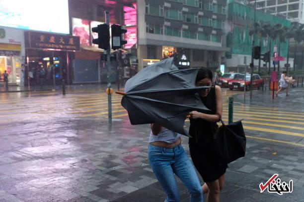 عکس/ طوفان هاتو هنگ کنگ را درنوردید