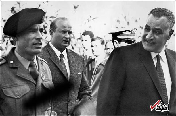 تصاویر : روزی که معمر قذافی با کودتا به قدرت رسید