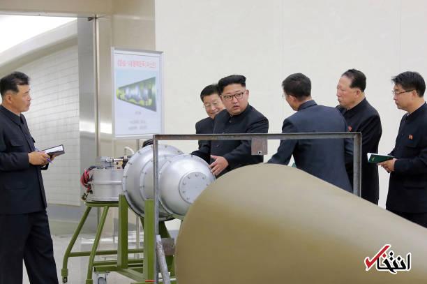 عکس/ بمب هیدروژنی کره شمالی