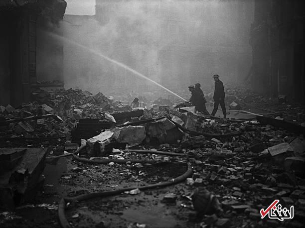 برنامه برای تعطیلات نوروز دهم تصاویر : بمباران لندن در جنگ جهانی دوم با ۴۳ هزار کشته