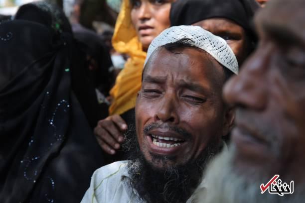 تصاویر : همسر اردوغان و پسرش در میان مسلمان آواره روهینگیا