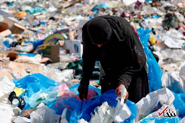 عکس/ زنان زباله گرد در نجف