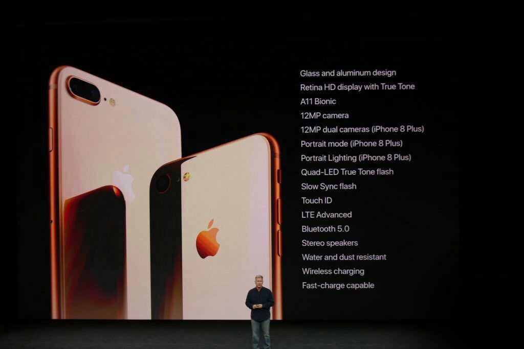 آیفون 8 و آیفون 8 پلاس با طراحی نسل قبل و قویترین پردازنده دنیای موبایل رونمایی شدند